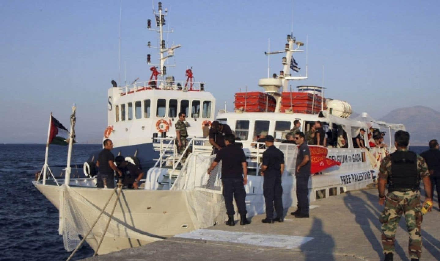 Flottille de la liberté - Le voyage du Tahrir stoppé net