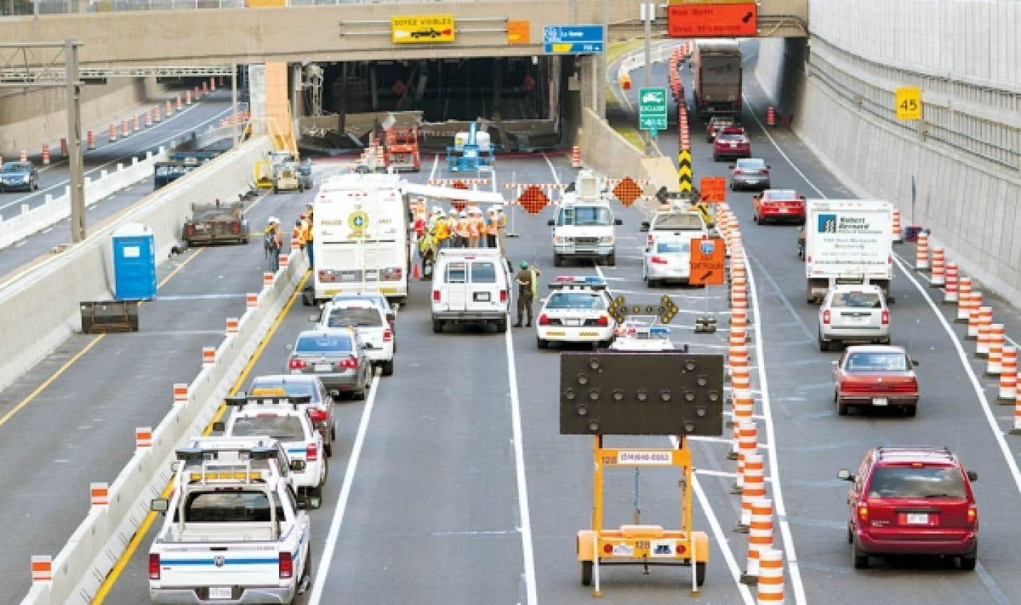 Les experts ont entamé l'examen du tunnel Viger