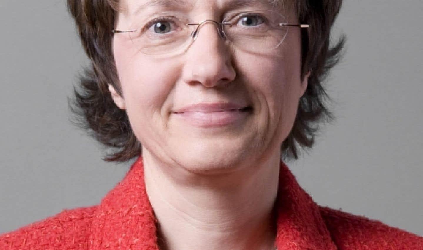 Christine Colin, professeure de santé publique et présidente du conseil scientifique de l'AUF