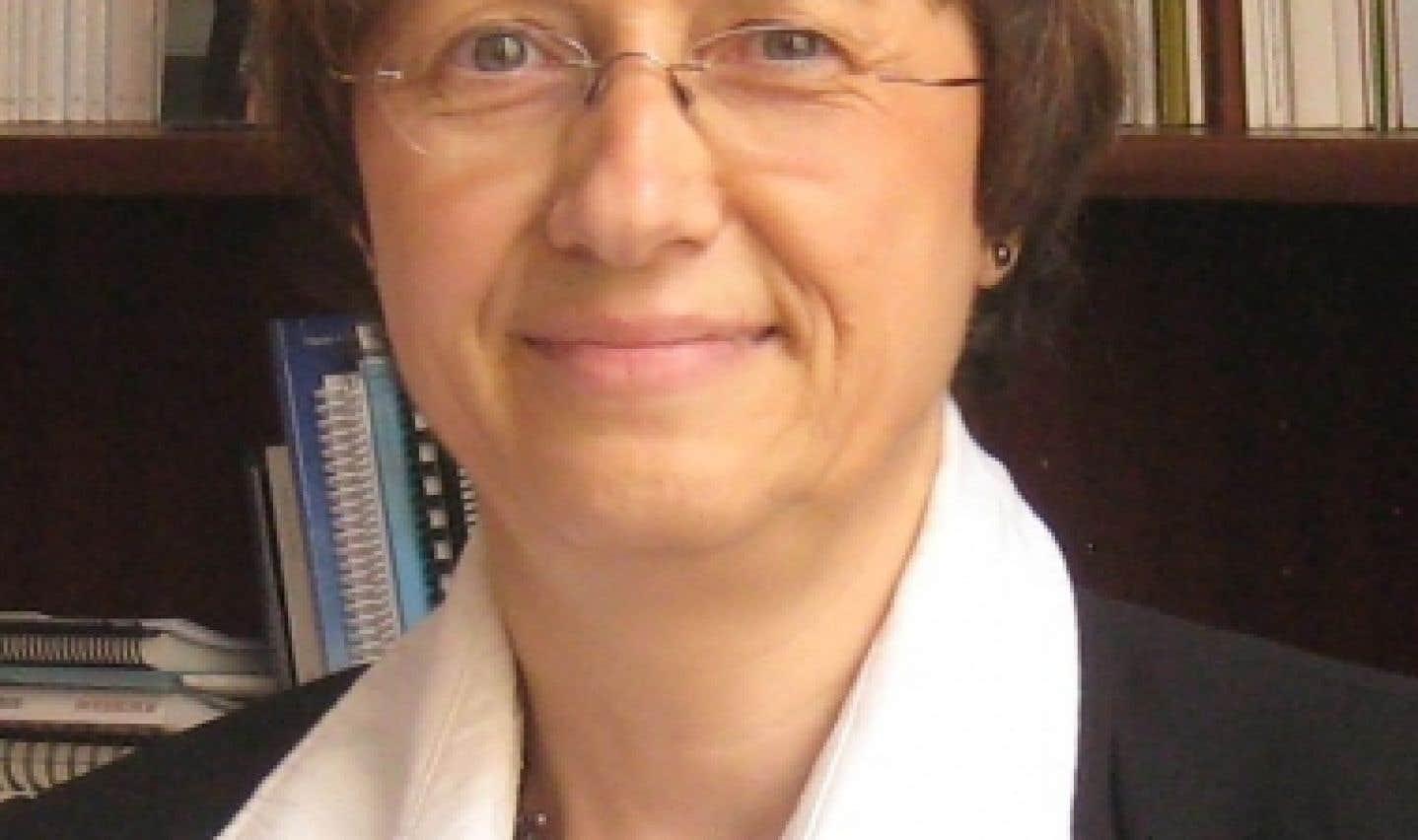 Christine Colin, professeure titulaire de santé publique à l'Université de Montréal et directrice du Centre de promotion de la santé du CHU Sainte-Justine