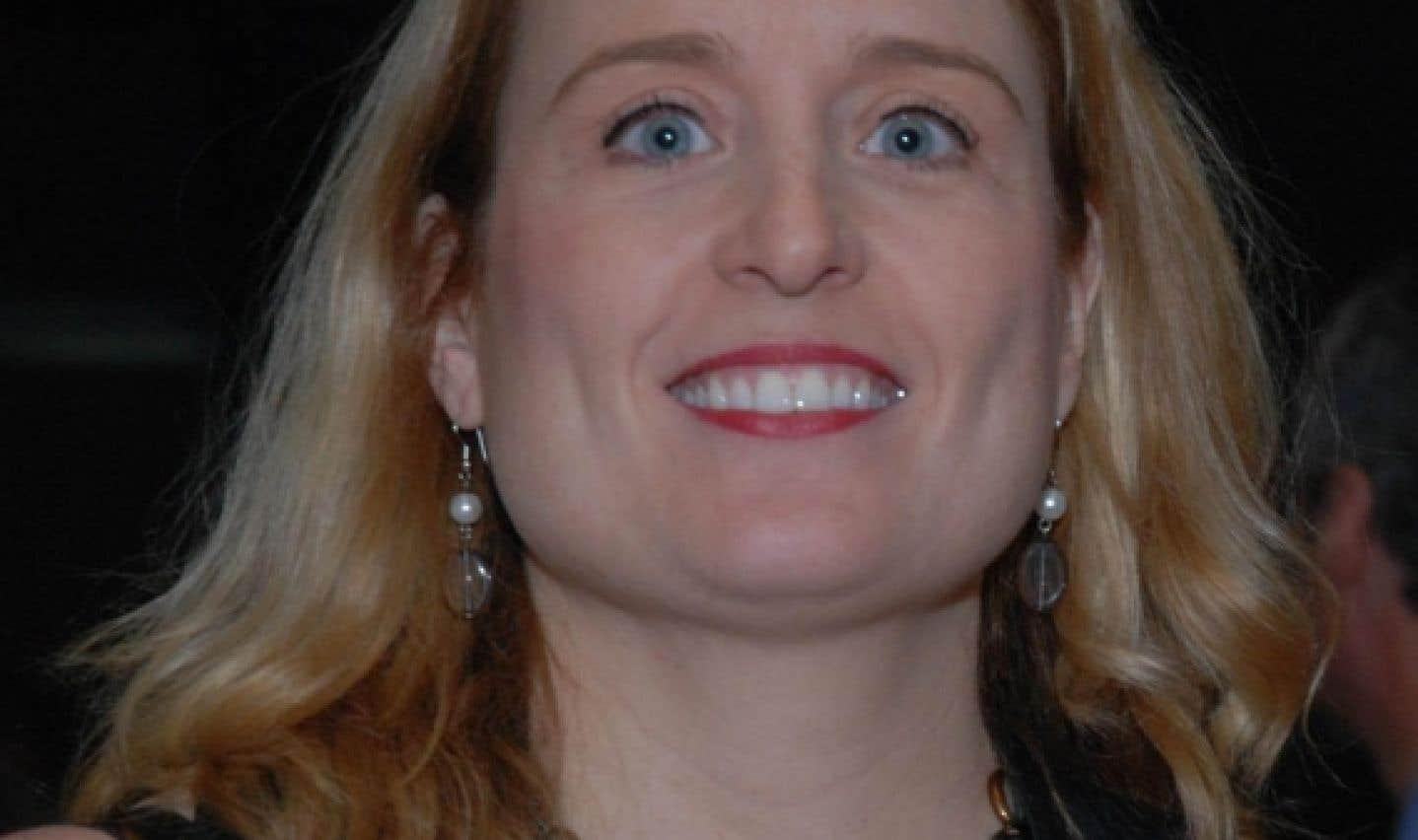 Caroline Senneville, secrétaire générale de la Fédération nationale des enseignants de la CSN et déléguée à la coordination du privé