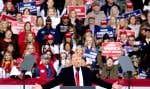Tout est parti d'un simple constat des autrices: l'explosion des demandes d'entrevue médiatique sur la mécanique politique des États-Unis et le quotidien rocambolesque de l'ex-président Donald Trump pendant la campagne présidentielle américaine de 2020.