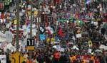 Quelque 200 000 étudiants opposés à la hausse des droits de scolarité ont manifesté dans les rues de Montréal le 22 mars dernier.