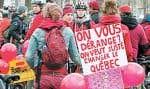 La volonté de toute cette jeunesse de se trouver au diapason d'un monde plus libre est menacée par les valeurs dont parle Jean Charest, affirment les étudiants.