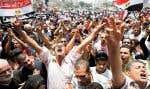 Les manifestants ont envahi la place Tahrir jeudi.