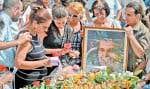 La veuve et la fille du dissident aux obsèques hier, à La Havane