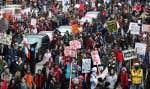 Droits de scolarit et frais afférents ont suscité la grogne des étudiants québécois.