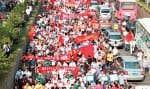 Des manifestations contre le Japon ont eu lieu dans une centaine de villes de Chine.