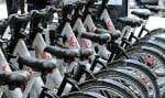 Le système de vélo en libre-service Bixi compte aujourd'hui quelque 450 stations de vélos.