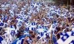 À Montréal, du parc Maisonneuve, le grand rassemblement de la fête nationale se transportera cette année à la place des Spectacles, au centre-ville.