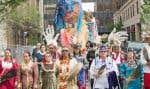 En habits traditionnels, les Premières Nations ont souligné dimanche la Journée nationale des Autochtones.