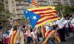 Le 11 septembre dernier, jour de la Diada, la « fête nationale », des partisans de l'indépendance ont marché dans les rues de Barcelone.
