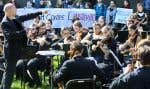 En octobre2014, les étudiants en musique protestaient contre la fermeture appréhendée de cinq conservatoires en région.