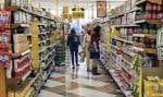 L'inflation a été nourrie par les hausses de prix des produits alimentaires.