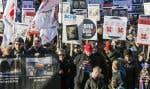 Manifestation des cols blancs le 9 décembre dernier