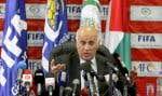 Le président de la Fédération palestinienne, Jibril Rajoub