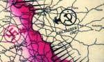 Une carte détaillant les positions russes lors de la Deuxième Guerre mondiale.