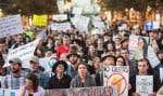 Le décret suspendant l'entrée aux États-Unis de ressortissants de sept pays a suscité de multiples protestations.