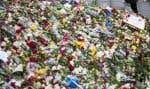 Fleurs et messages ont été déposés en mémoire des victimes de l'attentat au camion bélier qui a fait quatre morts.