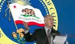 Le gouverneur de la Californie, Jerry Brown