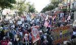 La chef de file du parti de La France insoumise a fait état de la présence de 150 000 manifestants, tandis la police en a compté cinq fois moins (30 000).