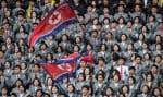 Les deux Corées se sont affrontées en avril dernier, à Pyongyang, capitale de la Corée du Nord, dans le cadre d'un match de qualification pour la Coupe d'Asie féminine de football 2018.