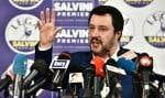 Matteo Salvini, chef de la Ligue d'extrême-droite en Italie.