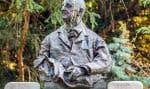 Le buste de Bruckner, à Vienne