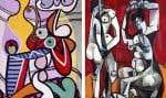 Pablo Picasso, «Grande nature morte au guéridon» (1931) et «Femmes à la toilette» (1956)