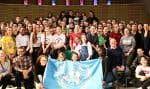 Dernier colloque des jeunes du Réseau des écoles associées de l'UNESCO. Au Québec, 26 écoles de niveau primaire et secondaire,13 du secteur public et 13 du secteur privé, l'ont intégré depuis son implantation au Canada en 2001.