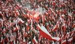 Des centaines de milliers de Polonais ont participé dimanche à la «marche commune pour la Pologne», à Varsovie.