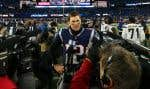 Tom Brady des Patriots