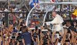 Le souverain pontife a lancé un appel à vivre dans le ?présent?.