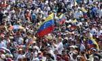 Juan Guaidó?a appelé ses partisans à ne pas relacher la pression, lors d'une nouvelle manifestation le 12?février.