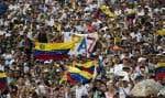 Quelque 250000 spectateurs étaient attendus au concert «Venezuela Aid Live».