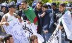 Mardi matin, comme tous les mardis depuis 10 semaines, les étudiants manifestent dans le centre d'Alger.