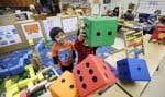 Selon le ministre Jean-François Roberge, les maternelles 4ans représentent un investissement pour les enfants, et non un coût. Sur la photo, une classe de maternelle 4ans à Seattle, aux États-Unis.