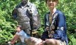 Fanny Mallette traverse le parc La Fontaine plusieurs fois par jour, souvent avec Le Devoir sous le bras.