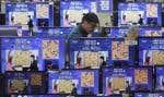 La série de parties de go, en 2016, entre le Sud-Coréen Lee Sedol, champion mondial, et l'intelligence AlphaGo.