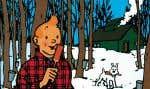 Dessin d'Hergé (1965), colorisé par les Studios Hergé (2010).