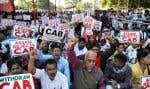 Plusieurs manifestations ont été organisées dans des villes de l'Inde, notamment à Guwahati, dans le nord-est du pays, contre la nouvelle loi sur la citoyenneté.