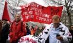 Au début de la troisième semaine de grève, jeudi, des contestataires ont pris part à une manifestation à Pariscontre la réforme des retraites en France.