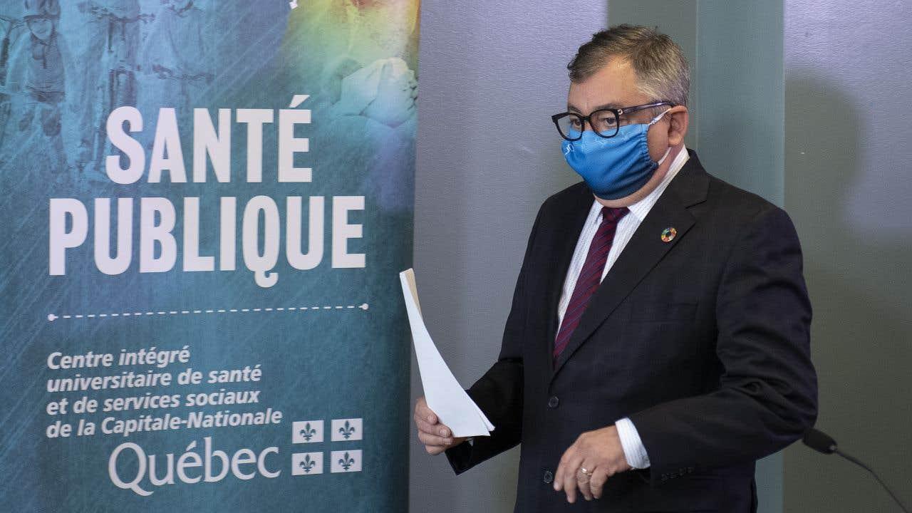 Le Dr Horacio Arruda fait le point sur la pandémie de coronavirus au Québec.