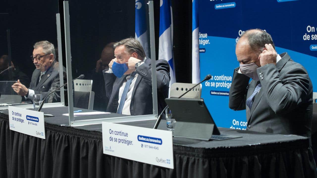 Le premier ministre François Legault fait le point sur la pandémie de COVID-19 au Québec.