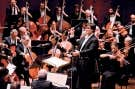 Le chef Alan Gilbert dirigeant le Philharmonique de New York<br />
