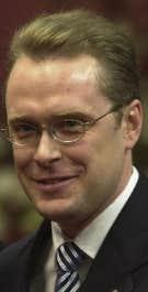 Le ministre du Développement durable, Claude Béchard