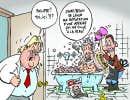 Marché noir pour des bains dans des CHSLD? Barrette enquête...