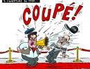 Denis Coderre discute cinéma avec Serge Losique...