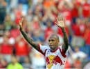 L'attaquant Thierry Henry des Red Bulls de New York