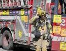 41 pompiers font face à des accusations criminelles et 30 pompiers ont été suspendus sans solde après le grabuge à l'hôtel de ville de Montréal.